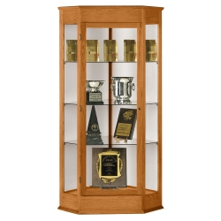 Corner Display Case, 31676