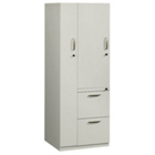 Left Hand Two-Drawer Storage Tower Cabinet, CD03569