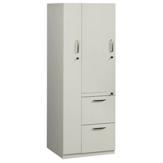 Left Hand Two-Drawer Storage Tower Cabinet, 31718