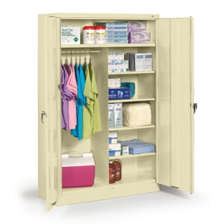 "48""W x 18""D x 78""H Jumbo Combination Storage Cabinet, 31724"