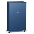 "48""W x 24""D x 85""H Mobile Storage Cabinet, 31727"