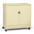 "48""W x 24""D x 49""H Mobile Jumbo Storage Cabinet, 31728"