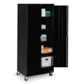 "36""W x 24""D x 85""H Mobile Storage Cabinet, 31734"