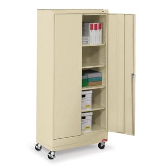 "36""W x 18""D x 79""H Mobile Storage Cabinet, 31736"