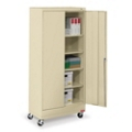 "36""W x 18""D x 79""H Mobile Storage Cabinet, 31736"