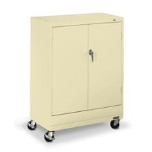 "36""W x 18""D x 49""H Mobile Storage Cabinet, 31737"