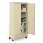 "36""W x 18""D x 79""H Mobile Combination Storage Cabinet, 31739"