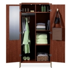 Sonoma Wardrobe Cabinet with Six Sections, 31834