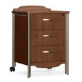 Sonoma Bedside Cabinet with Three Drawers, 31835