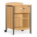 Sonoma Bedside Cabinet with Drawer and Shelf, 31836