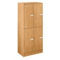 4-Person Double Locker in Elegant Laminate, 31895