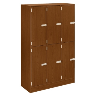 6-Person Triple Locker in Elegant Laminate, 31896