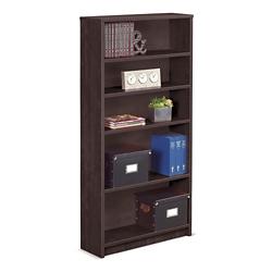 "Solutions Five Shelf Bookcase - 69""H, 32031"