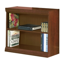 "Traditional Bookcase with Reinforced Shelves - 30""H, 32094"