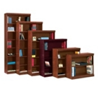 """Traditional Bookcase with Reinforced Shelves - 48""""H, CD04641"""