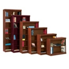 """Traditional Bookcase with Reinforced Shelves - 72""""H, 32098"""