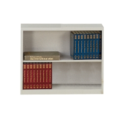 Steel Bookcase with Two Shelves, 32190