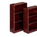 "Radius Edge Bookcase - 48""H, 32275"