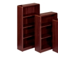 "Radius Edge Bookcase - 60""H, 32276"
