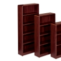 "Radius Edge Bookcase - 72""H, 32277"