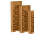 "Radius Edge Bookcase - 84""H, 32278"