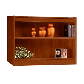 "Two Shelf Square Edge Reinforced Bookcase - 30"", 32342"