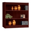 "Three Shelf Square Edge Reinforced Bookcase - 36"", 32343"