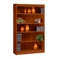 "Five Shelf Square Edge Reinforced Bookcase - 60"", 32345"