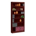 """Seven Shelf Square Edge Reinforced Bookcase - 84"""", 32347"""