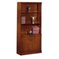 Executive Cherry Bookcase with Doors, 32611