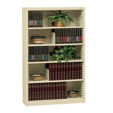 Heavy Duty Steel Bookcase with Five Shelves, 32625