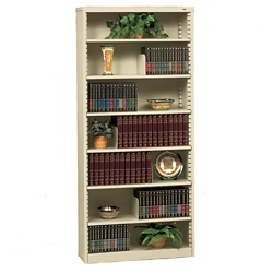 Heavy Duty Steel Bookcase with Seven Shelves, 32626