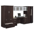 Complete Wall Storage Unit - Fully Assembled, 32743