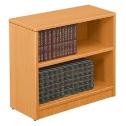 """Contemporary Two Shelf Bookcase - 30""""H, 32781"""