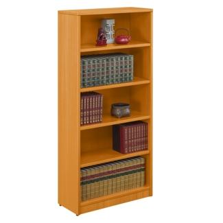 """Contemporary Five Shelf Bookcase - 71""""H, 32751"""