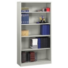 """70""""H Metal Bookcase with Five Shelves, CD03579"""
