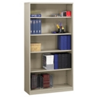 """66""""H Metal Bookcase with 5 Shelves, CD03580"""