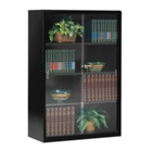 "Bookcase with Glass Doors 52""H, 32791"