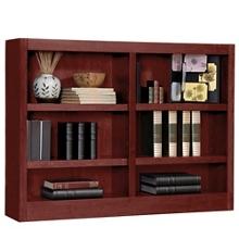 "36"" H Double Bookcase, 32817"