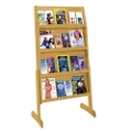 Literature Rack with 24 Pockets, 33193