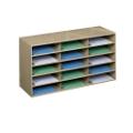 Steel 15 Pocket Literature Organizer, 33285