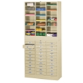 Letter Size Stackable 30-Drawer Cabinet with Literature Organizer, 33361