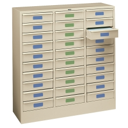 Letter Size 30-Drawer Storage Cabinet, 33368