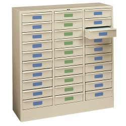 Legal Size 30-Drawer Storage Cabinet