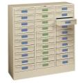 Legal Size 30-Drawer Storage Cabinet, 33369