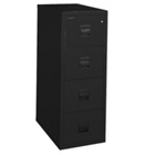 Vertical Fireproof File with Four Drawers, 34266