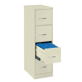 Four Drawer Legal Size Vertical File, 34428