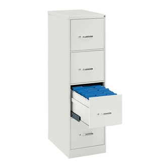 Four Drawer Letter Size Vertical File, 34426