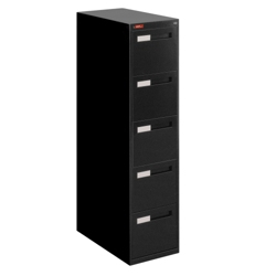 Five Drawer Letter Size Vertical File, 34916