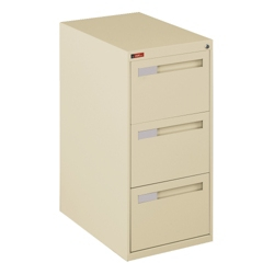 Three Drawer Legal Size Vertical File, 34918